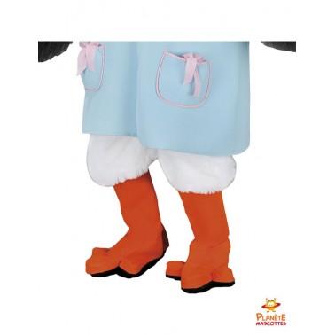 Pantalon costume mascotte cigogne