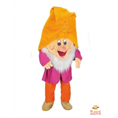 Happy 7 Dwarfs Mascot