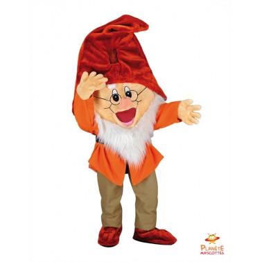 Prof 7 Dwarfs Mascot costume