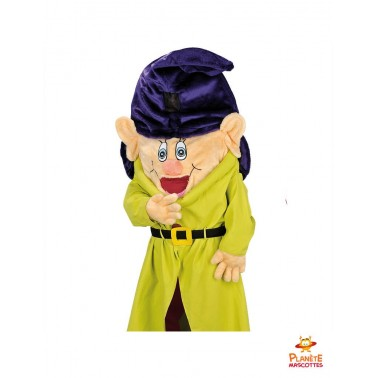 Costume mascotte 7 nains Simplet