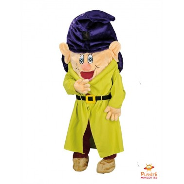 Dopey 7 Dwarfs mascot costume