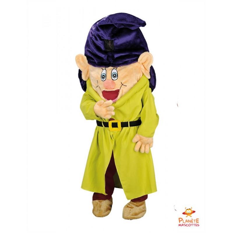 Mascot 7 Dwarfs Dopey costume, Mascot adult costumes, Professional mascots  costumes