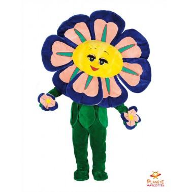 Costume mascotte de Fleurs