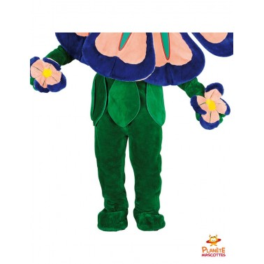 Pantalon mascotte de fleur