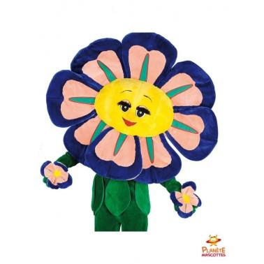 Mascotte de fleur Planète Mascottes