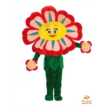 Costume mascotte de Fleur...