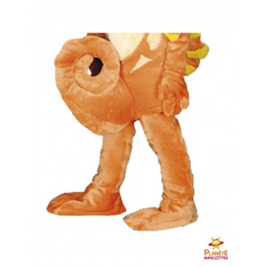 Pantalon costume mascotte d'hippocampe