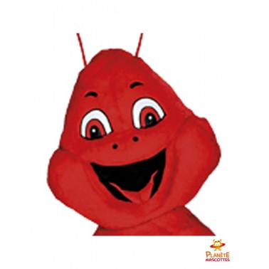 Tête mascotte de langoustine