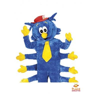 Costume mascotte mille-pattes