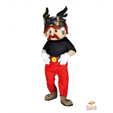 Costume Mascotte de Gaulois