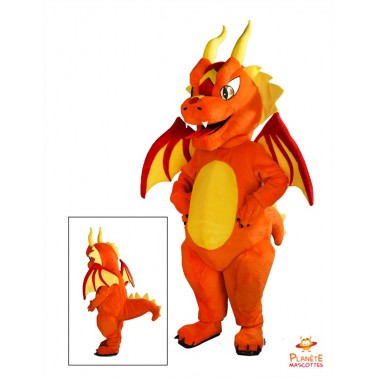 Costume mascotte Dragon
