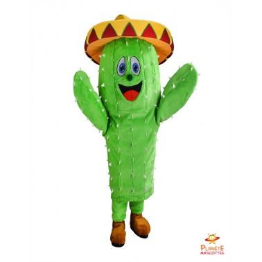 Kaktus-Maskottchen-Kostüm