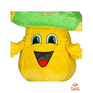 Tête mascotte costume champignon