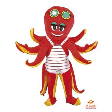 Costume mascotte de Pieuvre