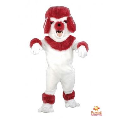 Poodle Dog mascot costume