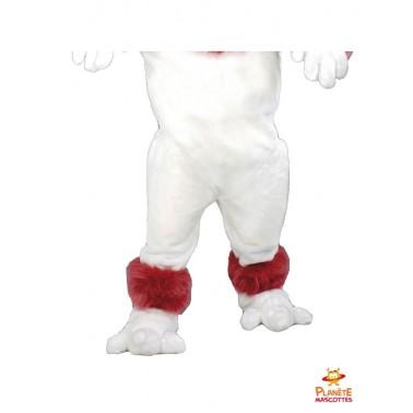 Pantalon mascotte de chien caniche