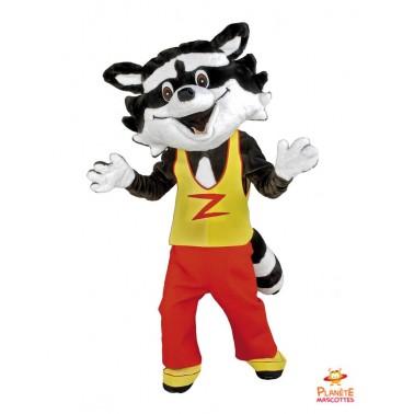 Costume mascotte Raton Laveur