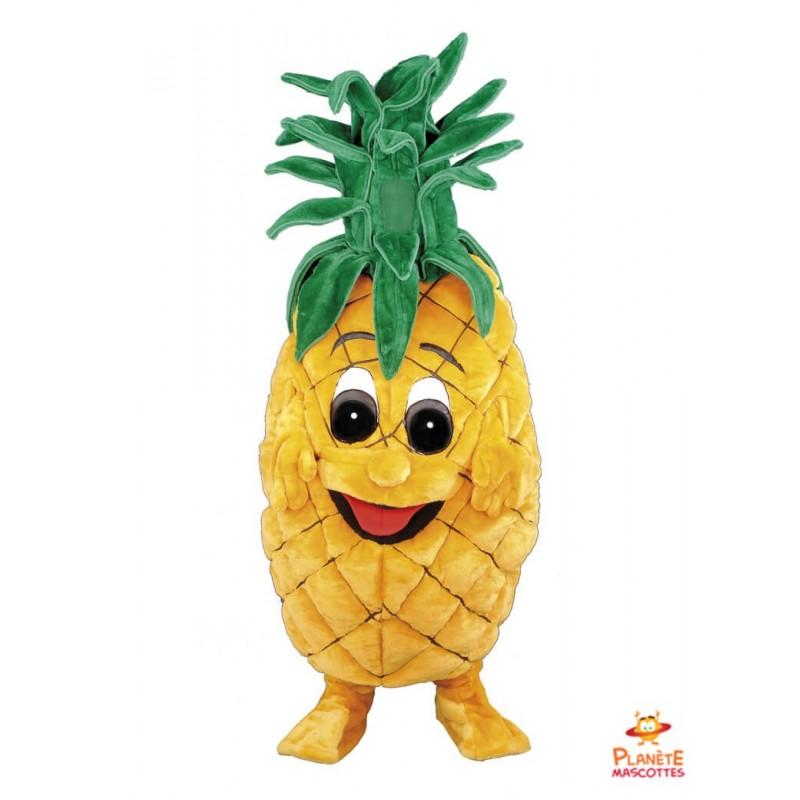 Mascotte ananas Planète Mascottes