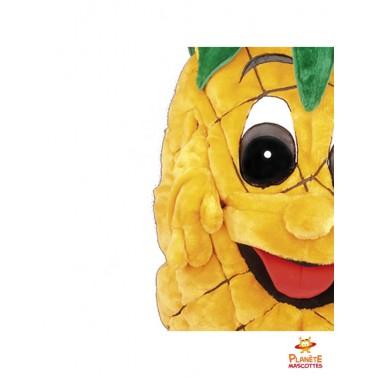 Détails mascotte ananas