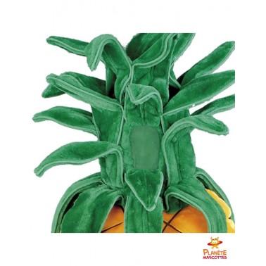 Détails mascotte ananas Planète Mascottes