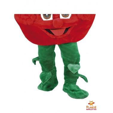 Pantalon mascotte de fraise