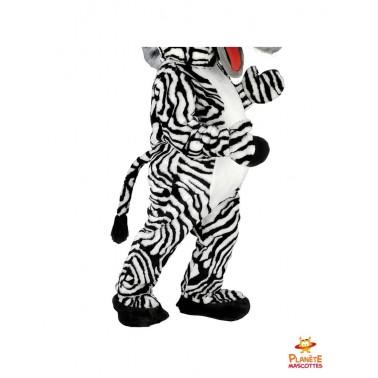 Pantalon mascotte de zèbre