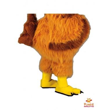 Pantalon mascotte de poule