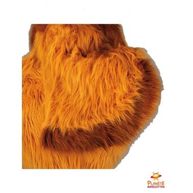 Détails costume mascotte poule
