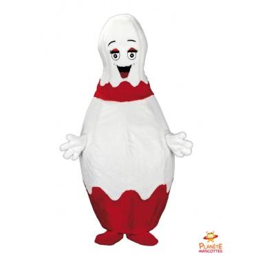 Costume mascotte Bowling