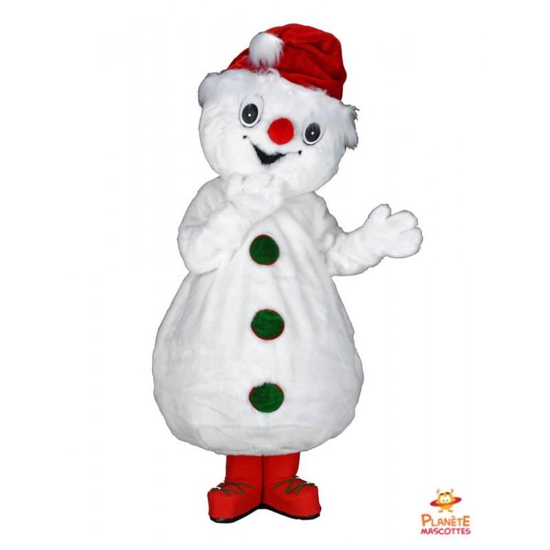 Mascotte bonhomme de neige Planète Mascottes