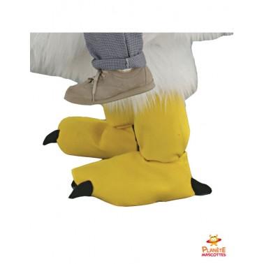 Pantalon mascotte à dos de poulet