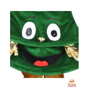 Bouche mascotte sapin de Noël