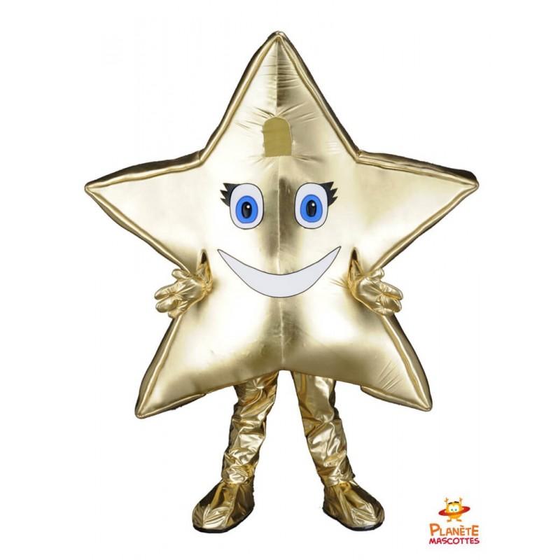 Mascotte étoile Planète Mascottes