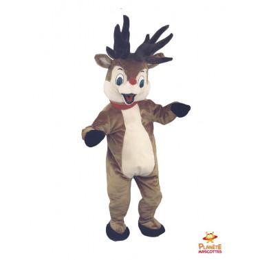 Costume mascotte de Cerf