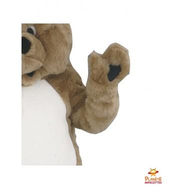 Détails mascotte teddy bear