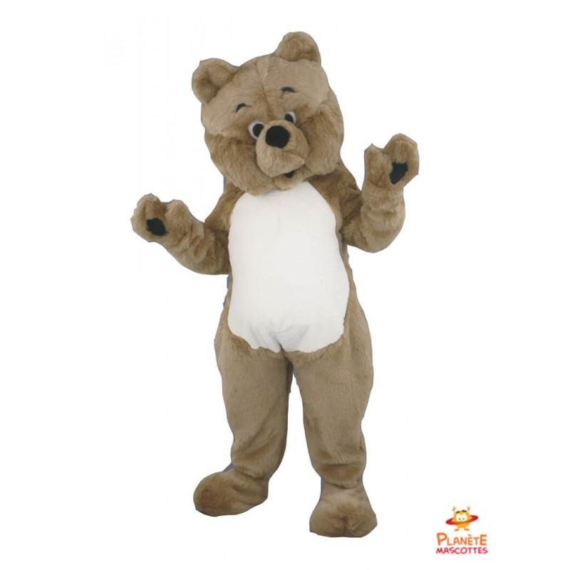 Mascotte teddy bear Planète Mascottes