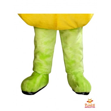 Pantalon mascotte champignon orange