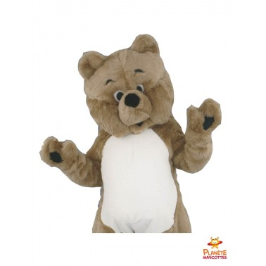 Costume mascotte teddy bear