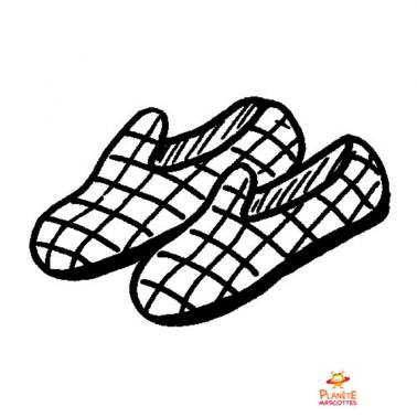 Mascotte : paire de chaussures