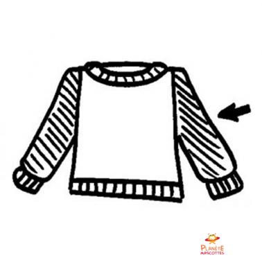 Mascota : chaqueta o chaleco