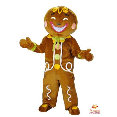 Mascota de pan de jengibre Planète Mascottes
