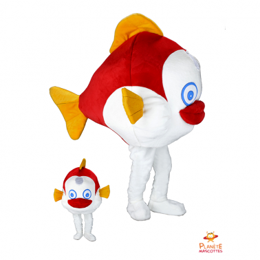 Costume mascotte de poisson...
