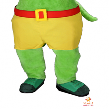 Pantalon mascotte souris verte Planète Mascottes