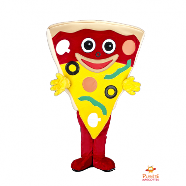 Costume mascotte de pizza
