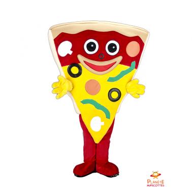 Mascotte pizza Planète Mascottes