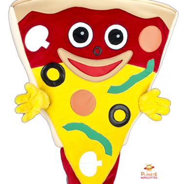 Corps mascotte pizza Planète Mascottes