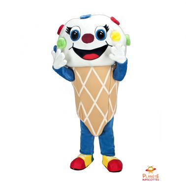 Eis Maskottchen Kostüm