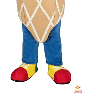 Pantalon mascotte glace Planète Mascottes