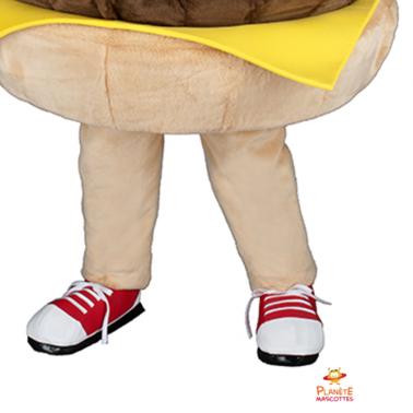 Pantalon mascotte hamburger Planète Mascottes