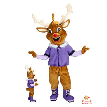 Costume mascotte de renne...